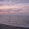 Sunrise View of Beach From the Balcony - Compass Cove Resort - Myrtle Beach, SC  3-25-11