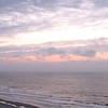 Sunrise View From the Balcony - Compass Cove Resort - Myrtle Beach, SC  3-25-11