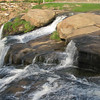 Greenville,SC - Along The Reedy River At The Falls