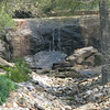 Greenville,SC - Rock Quarry Gardens - Waterfall At One End Forming Stream