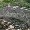 Greenville,SC - Rock Quarry Gardens - Stone Bridge And Me