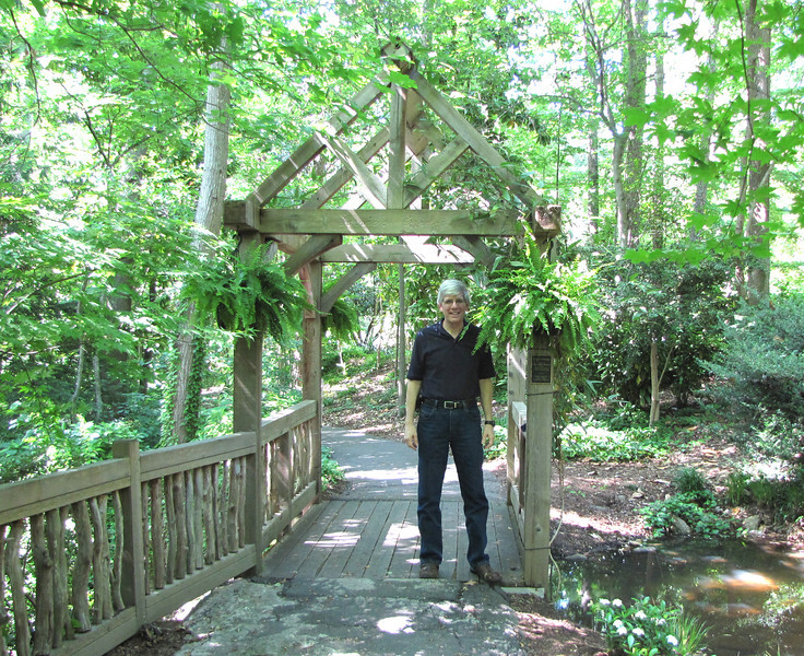 Randal in the Woods - Hatcher Garden and Woodland Preserve - Spartanburg, SC