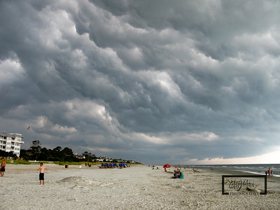 Storm rolls over the beach on HIlton Head Island  © Copyright m2 Photography - Michael J. Mikkelson 2009. All Rights Reserved. Images can not be used without permission.