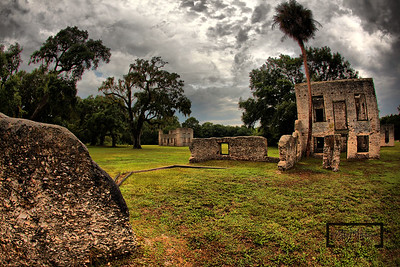 Tabby Ruins on Spring Island, South Carolina  © Copyright m2 Photography - Michael J. Mikkelson 2009. All Rights Reserved. Images can not be used without permission.