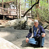 Randal on Rock at Nature Center - Table Rock State Park, Pickens, SC