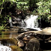 Waterfall - Table Rock State Park, Pickens, SC - April 9, 2010