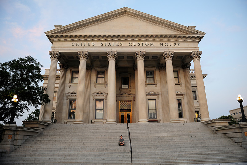 United States Custom House in Charleston, South Carolina.