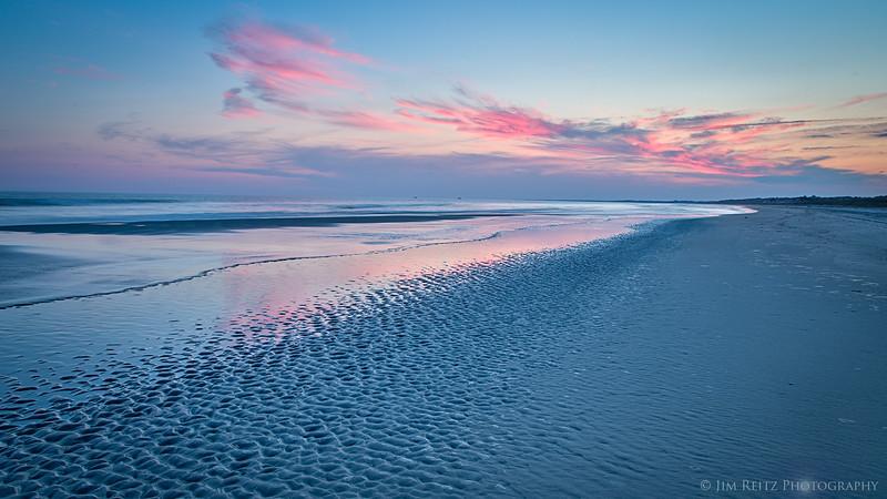 Beach sunset - Kiawah Island, South Carolina