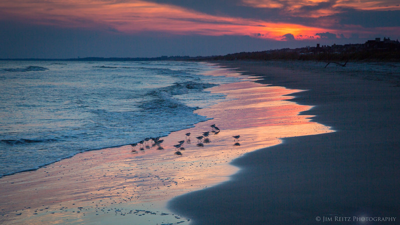 Beach sunset - Kiawah Island, South Carolina