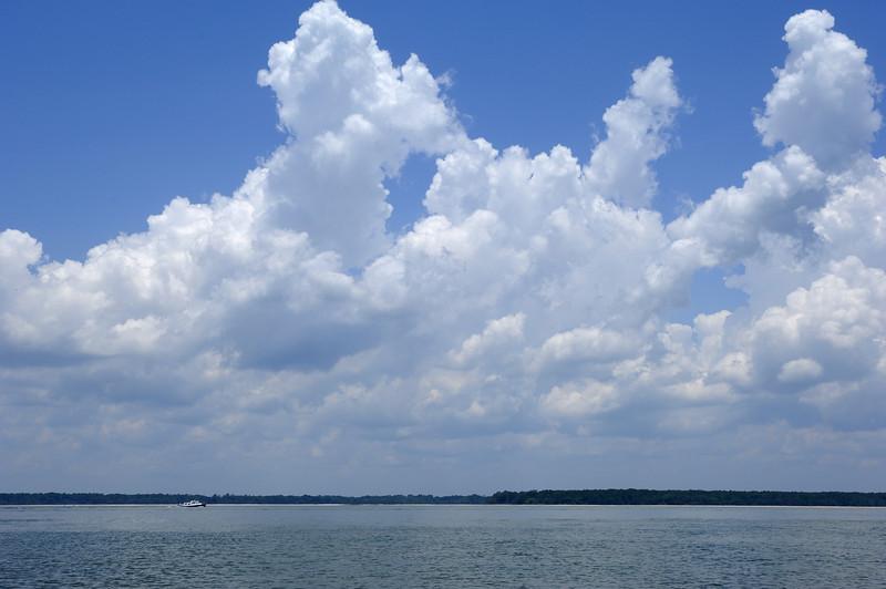 Expansive sky.