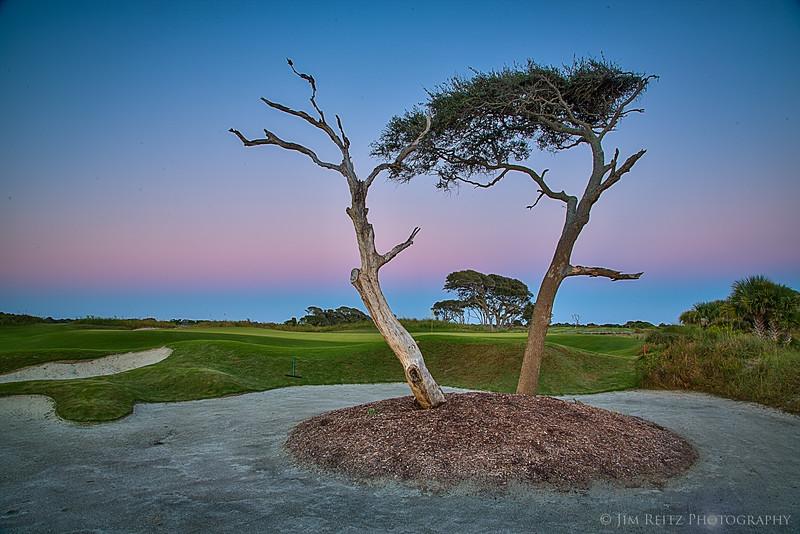 The Ocean Course at sunset - Kiawah Island, South Carolina