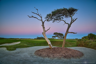 The Ocean Course at sunset - Kiawah Island, South Carolina