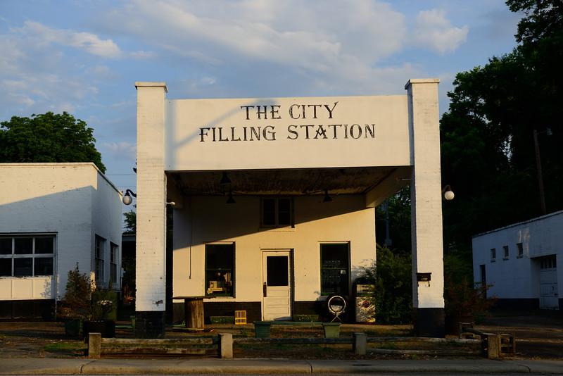 City Filling Station; Newberry,  South Carolina
