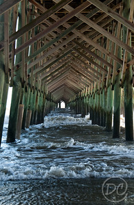 Under the Folly Beach Pier Folly Beach, SC