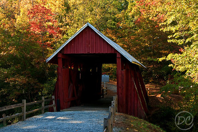 Campbell's Covered Bridge The last remaining covered bridge in the state of South Carolina. Gowensville, SC
