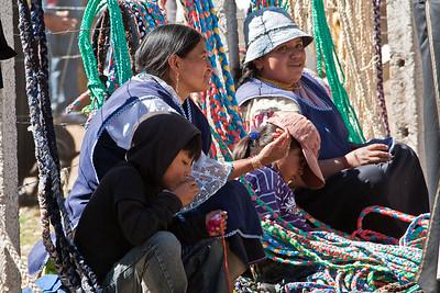 Ecuador: Otovolo Market