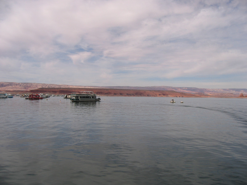 Lake Powell, on the ferry