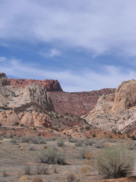 Burr Trail switch backs, out of Boulder UT, headed to Lake Powell