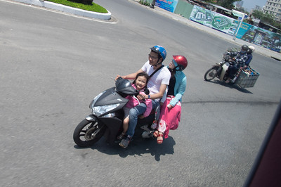 Four on a Scooter