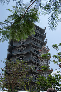 Thap Xa Loi Tower Grounds