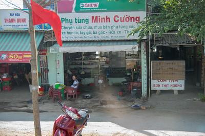 Repair Shop, Ho Chi Minh, Vietnam