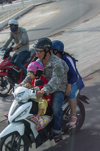 Three on a Scooter