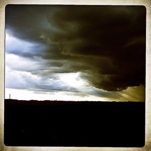Wetness approaching.
