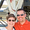 Matt took us to Elsworth AFB to see the bombers he works on.