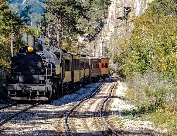 South Dakota Black Hills to Mitchel SD