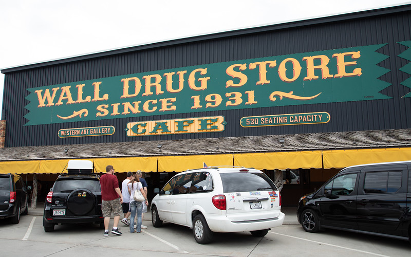 Everyone stops at Wall Drug