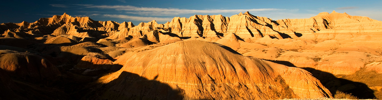 South Dakota Badlands sunrise