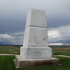 Monument at the Little Bighorn Battlefield National Monument.