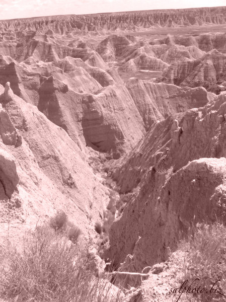 "<a href=""http://www.nps.gov/badl/index.htm"">http://www.nps.gov/badl/index.htm</a><br /> <br /> ""...The rugged beauty of the Badlands draws visitors from around the world. These striking geologic deposits contain one of the world's richest fossil beds. Ancient mammals such as the rhino, horse, and saber-toothed cat once roamed here. The park's 244,000 acres protect an expanse of mixed-grass prairie where bison, bighorn sheep, prairie dogs, and black-footed ferrets live today...""<br /> <br /> <a href=""https://goo.gl/maps/q7idN7MktcT2"">https://goo.gl/maps/q7idN7MktcT2</a>"