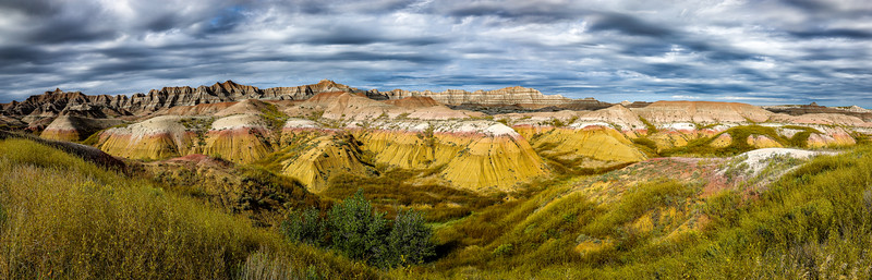 Badlands, Yellow Mounds