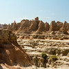 Walk on the wild side in the Badlands.