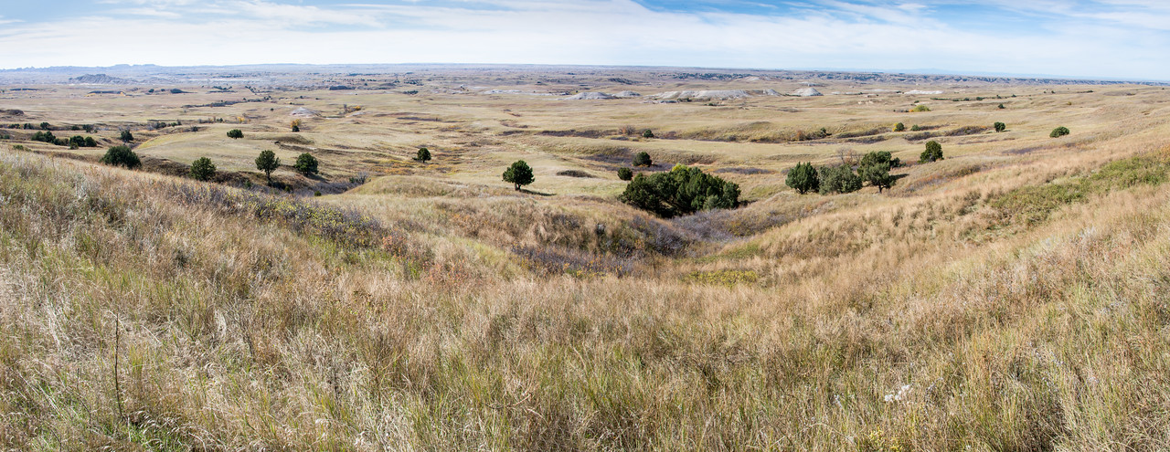 Hiking in Southern part of Custer State Park, South Dakota - October 2014