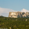 First view of Mt. Rushmore.