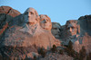 Mount Rushmore at dawn