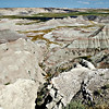 "<a href=""http://en.wikipedia.org/wiki/Badlands_National_Park"">http://en.wikipedia.org/wiki/Badlands_National_Park</a><br /> <br /> The Stronghold Unit is co-managed with the Oglala Lakota tribe and includes sites of 1890s Ghost Dances,[5] a former United States Air Force bomb and gunnery range,[6] and Red Shirt Table, the park's highest point at 3,340 feet (1,020 m).[7] Authorized as Badlands National Monument on March 4, 1929, it was not established until January 25, 1939. It was redesignated a national park on November 10, 1978.[8]<br /> <br /> Under the Mission 66 plan, the Ben Reifel Visitor Center was constructed for the monument in 1957–58. The park also administers the nearby Minuteman Missile National Historic Site."