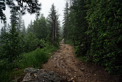 Hiking to Black Elk Peak