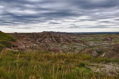 Badlands National Park, South Dakota HDR