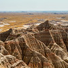 Peaks and Valleys,<br /> Badlands National Park, SD