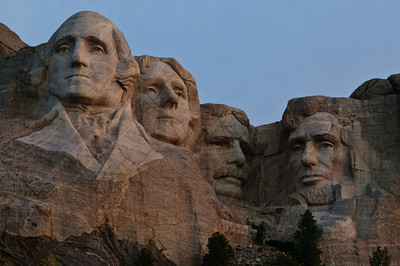 Mount Rushmore - close-up
