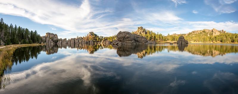 Sylvan Lake in Custer State Park, South Dakota - October 2014