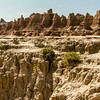 Badlands- rugged terrain.
