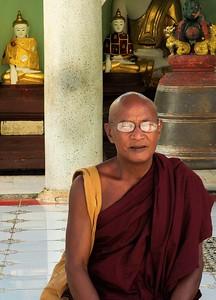 An older monk.