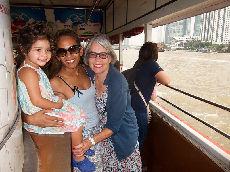 Water taxi on the Chao Phraya River