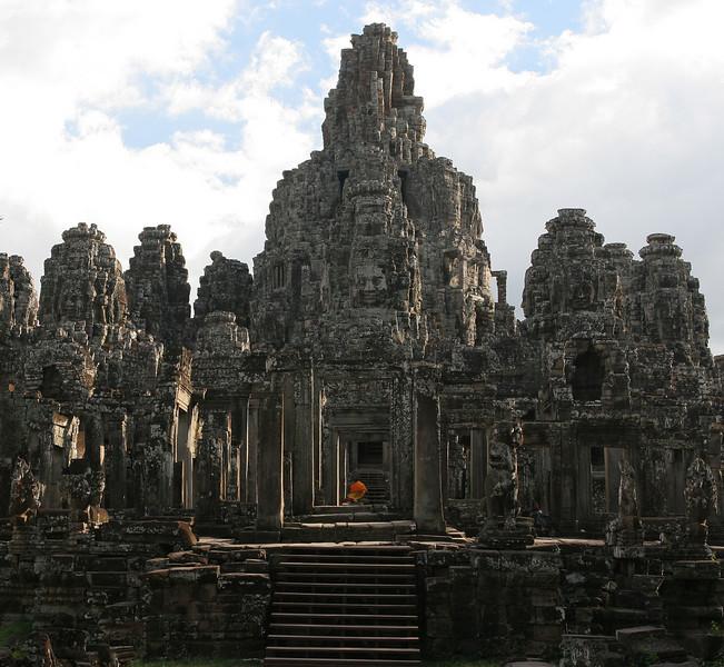 Bayon temple in Agkor
