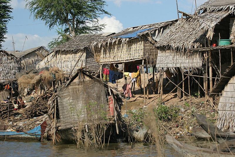 Vietnamese fishing village