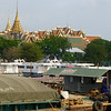 We were on a river cruise, down the Chao Phraya from Ayuttyaha